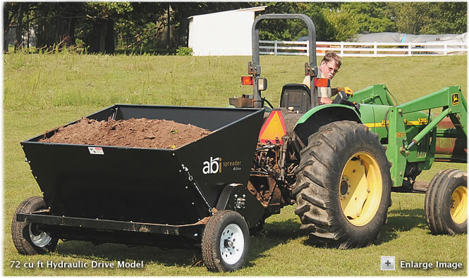 6 Foot wide Hydraulic Drive Elite Spreader
