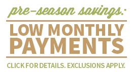 Holiday Savings Low Monthly Payments